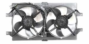 Autóhűtő csere - ventilátor