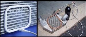 Intercooler javítás