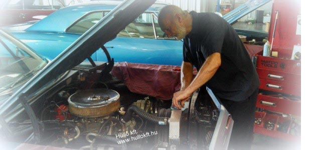 autóhűtő karbantartás